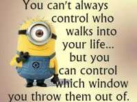 Best funny quotes You Can't Control Who In Your life, You Can