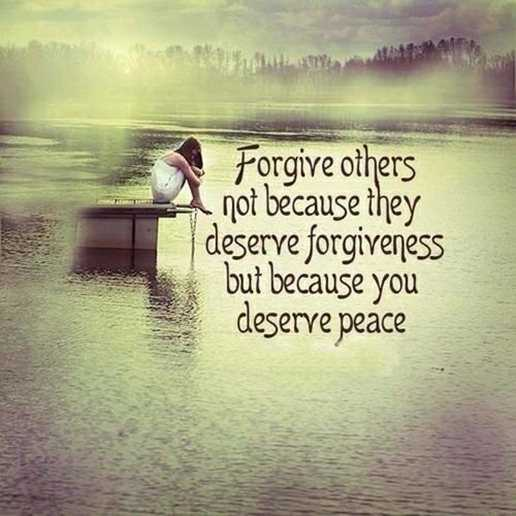 Forgiveness Quotes: Forgive Others Not Because They