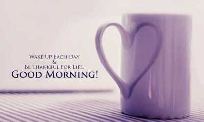 Good Morning Quotes Be Positive Thoughts Be Thankful