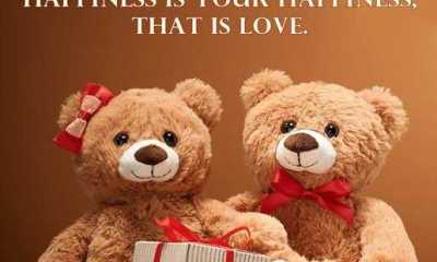 Happiness Quotes about love Sayings When someone else's happiness is your happiness