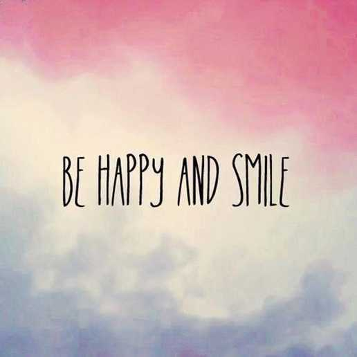 Happy Quotes about smile Be happy And Smile