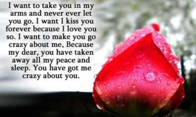 Love quotes I Love You Quotes for Her Never let Go