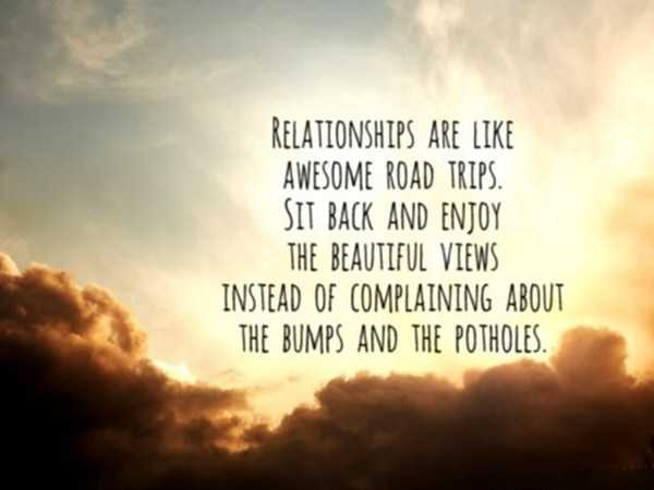 Relationships Quotes Sit Back And Enjoy Relationships Like