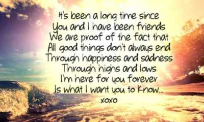 Best Friendship Quotes And Sayings I M Here For You Forever My Friend