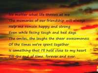 Best Friendship Quotes And Sayings The Memories Of Our Friendship