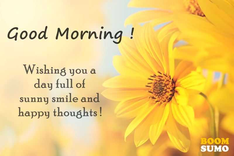 Good Morning Quotes: Awesome Day Full Of Sunny Smile And