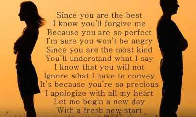 I Am Sorry Poems for Boyfriend Apology Poems for Him from Her