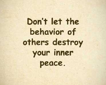Inspirational Quotes You Need To Dont Let The Behavior