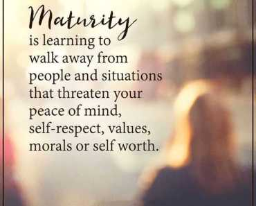 Motivational Quotes This Is WhatMaturity Walk Away