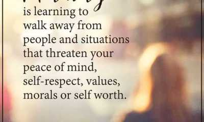 Motivational Quotes This Is What Maturity Walk Away