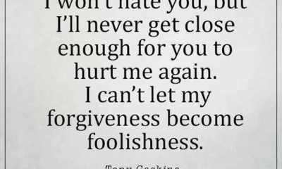 Sad Love Quotes I Forgive I Can'T Let You Hurt Me Again
