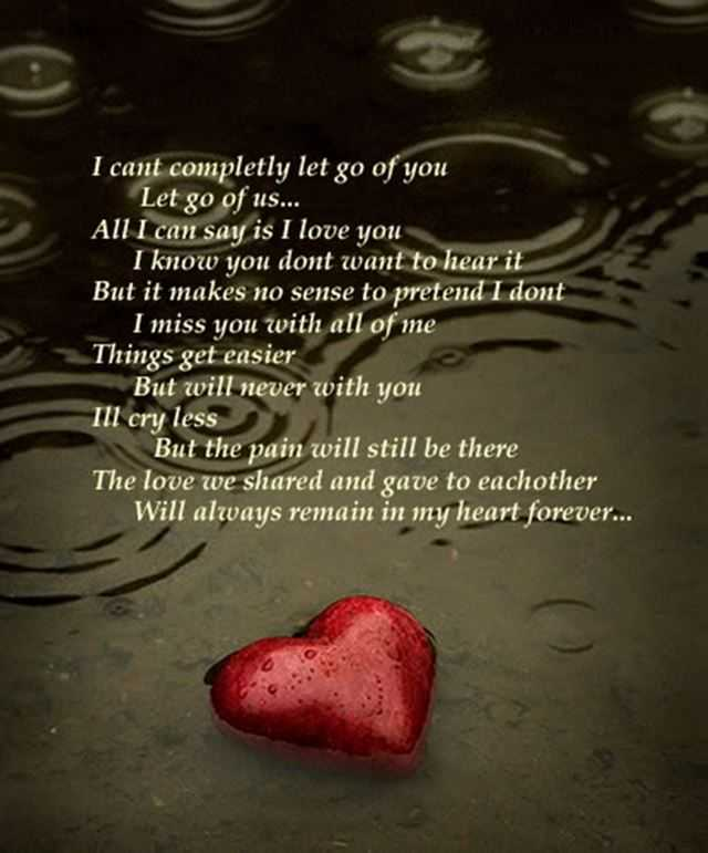 Sad Love Quotes Iu0027ll Cry Less My Heart Forever