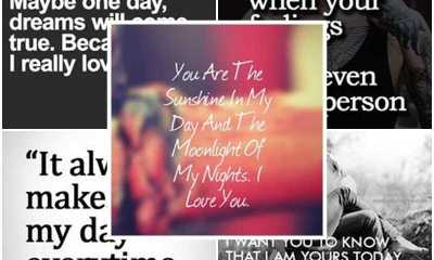 100 Awesome Cute Love Quotes My Love Sensational Breakthrough