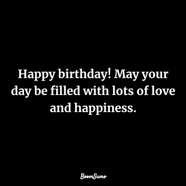 wishes with birthday