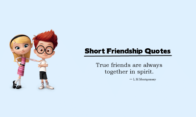 Short Friendship Quotes Inspiring Quotes for Best Friends