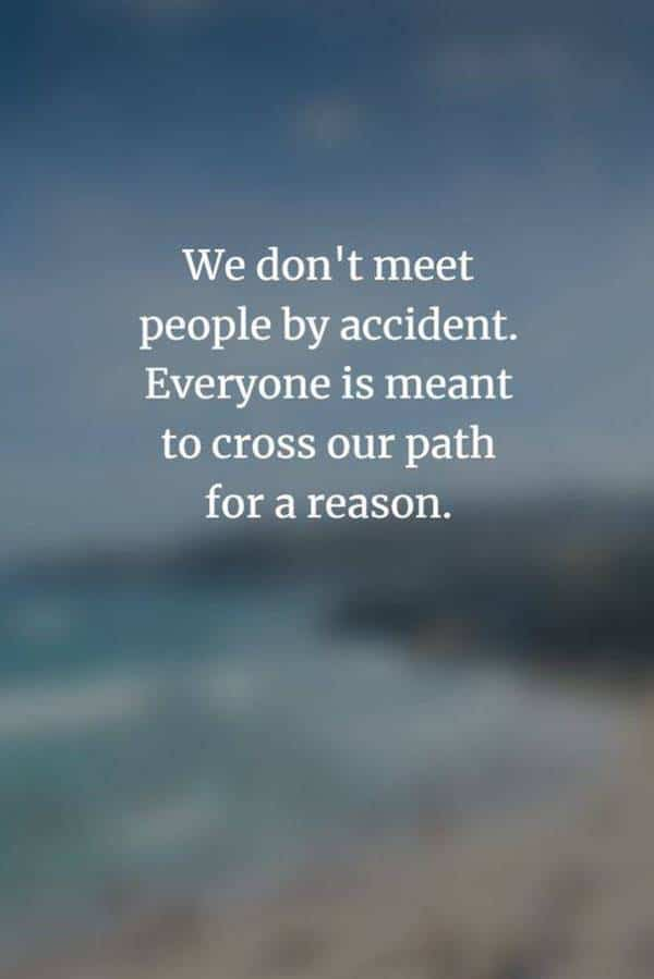Don't meet  people by accident never stop quotes proverbs about perseverance