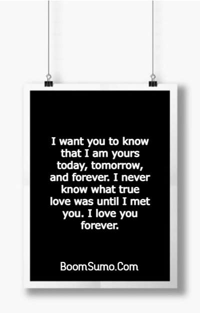 145 Unique I Love You Forever Quotes For Him and Her | love you forever quotes, i love you quotes, l love you forever quotes