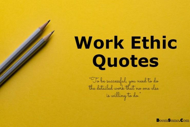 Work Ethic Quotes