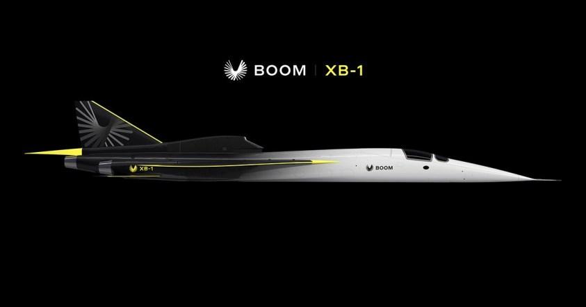 Concorde Supersonic Jet එක වෙනුවට XB-1 නම් Supersonic ගුවන්යානයක් එළිදැක්වීමට Boom Technology සමාගම සූදානම් වෙයි