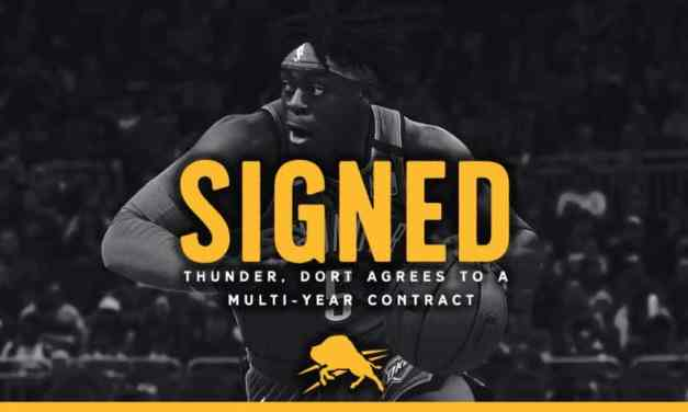 Lu Dort Signs Multi-Year Deal With The Thunder