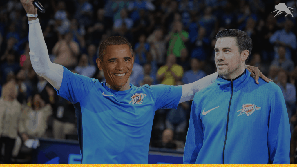 Nick Collison Reflects On Playing Basketball With President Obama