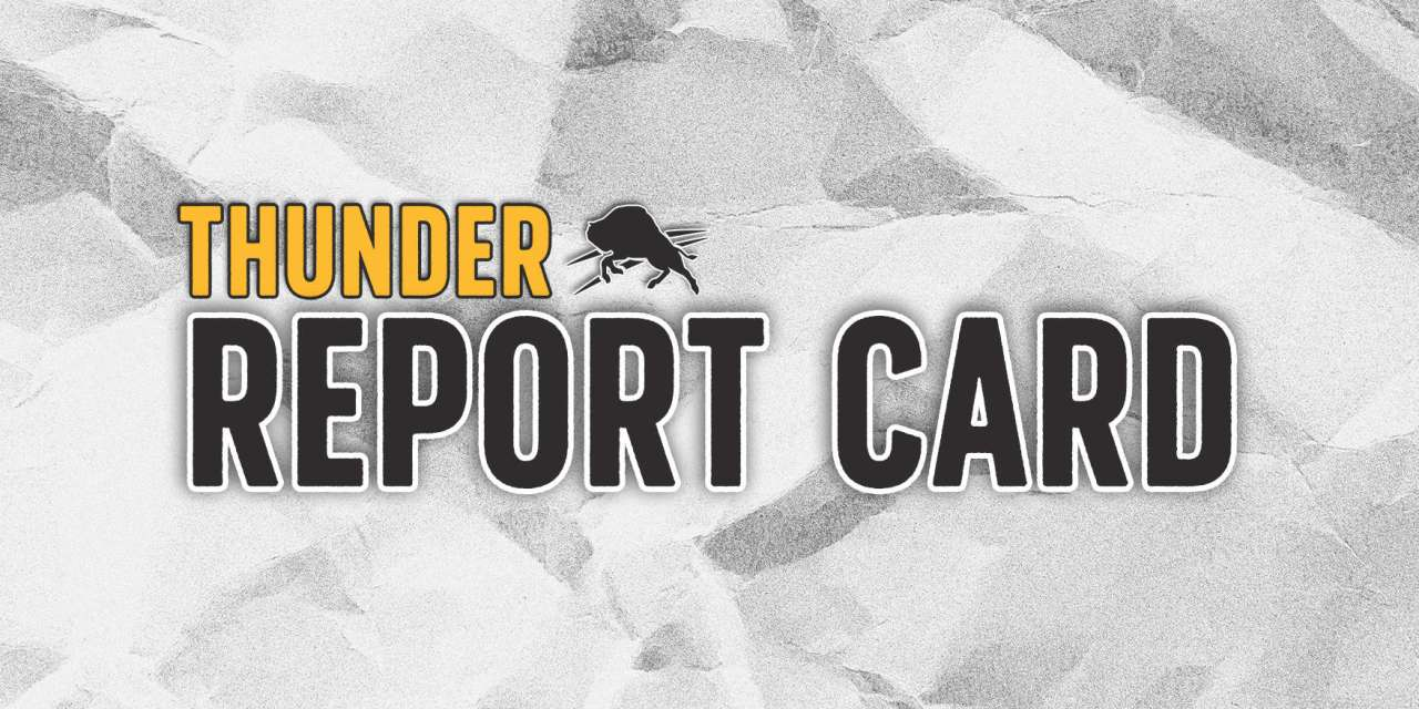 Thunder Report Card: SGA, Dort ace first 20 games