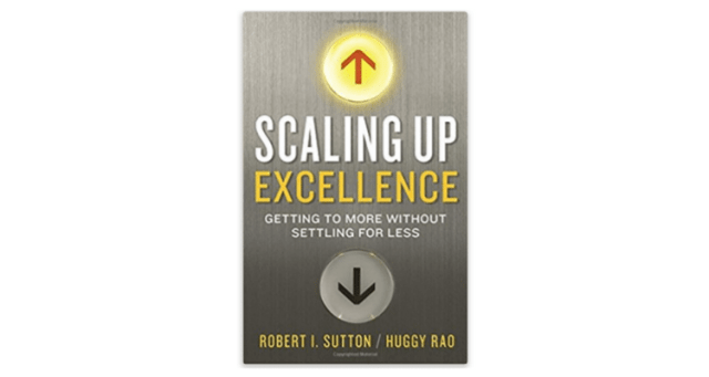 Scaling up Excellence BoomTown Book