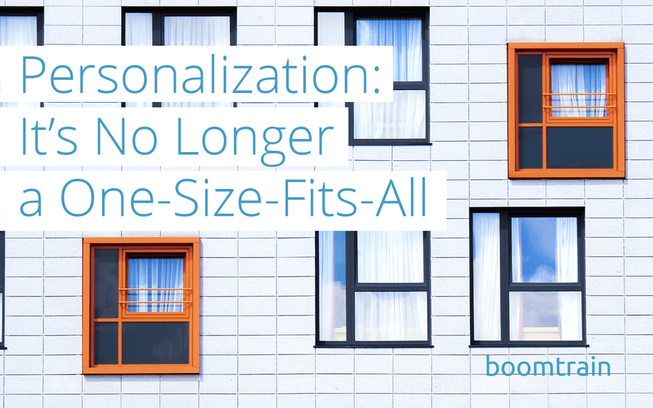 Personalization Is No Longer One-Size-Fits-All
