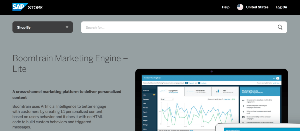 Boomtrain Marketing Engine now available on the SAP Store