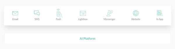 Boomtrain's AI based Marketing Engine