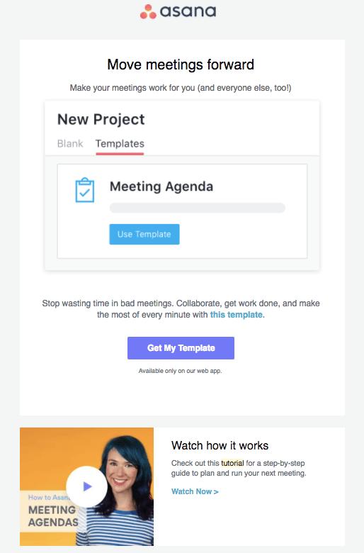 asana tutorial email