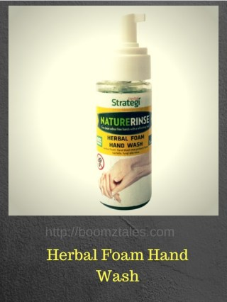 herbal foam handwash
