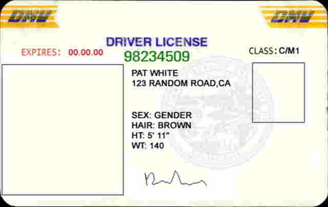 Boondocker Chatter Online - Driver's License