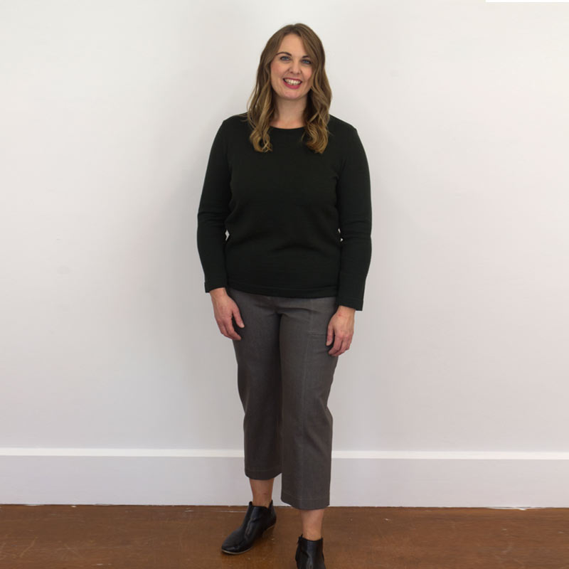 Crop pants and trousers