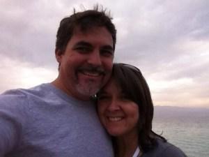 David Hockett and wife