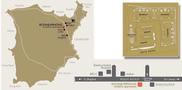 Boonjumnong Map