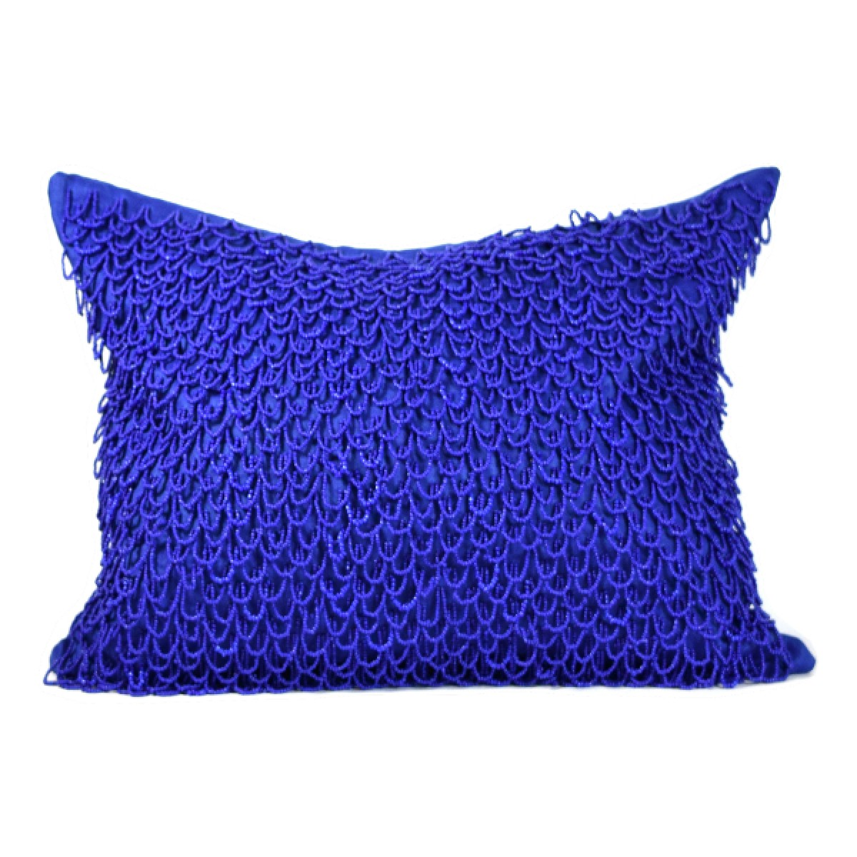 dazzling blue crazy loops linen throw pillow by debage inc set of 2