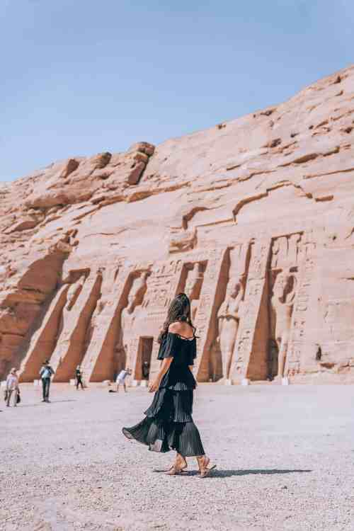 Catarina of The Professional Traveler in Egypt