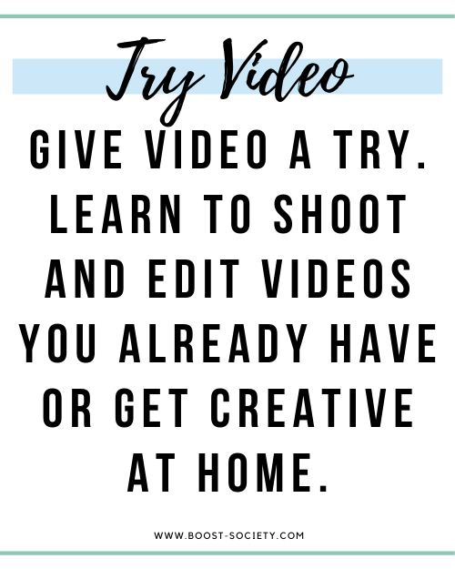 Try video