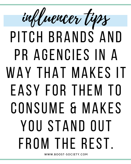 Pitch brands and PR Agencies in a way that makes it easy for them to consume and makes you stand out from the rest.