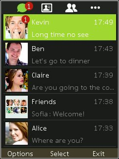 wechat Java Apps Uncategorized  Download WeChat For Nokia Asha and S40 jar java