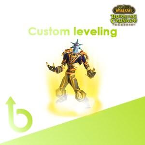 buy wow classic leveling custom range