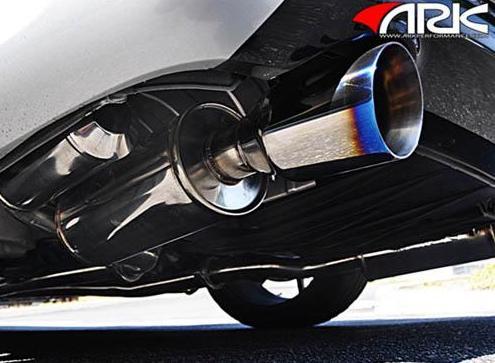 ark stainless grip catback exhaust infiniti g35 g37 sedan