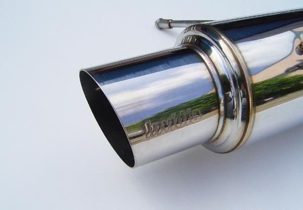 invidia n1 catback exhaust stainless steel tip wrx sti