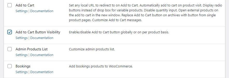 Enable Add to Cart Button Visibility module