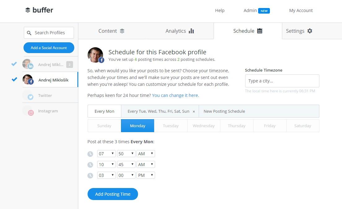 Boosterberg Facebook Ads Academy Buffer Post Scheduling