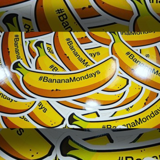 Banana Monday Stickers