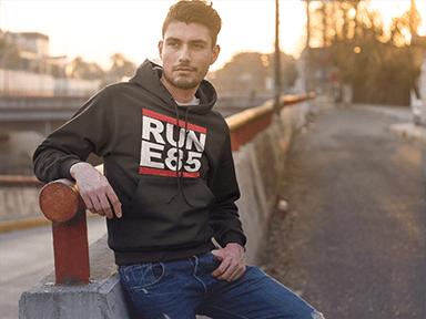 RUN E85 Hoodie 1