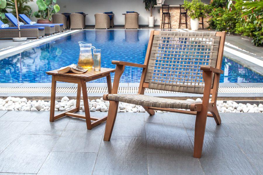 fauteuil de jardin en bois d eucalyptus