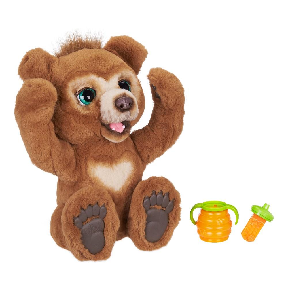 furreal friends cubby l ours curieux peluche interactive a partir de 4 ans